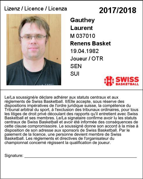 Laurent Gauthey