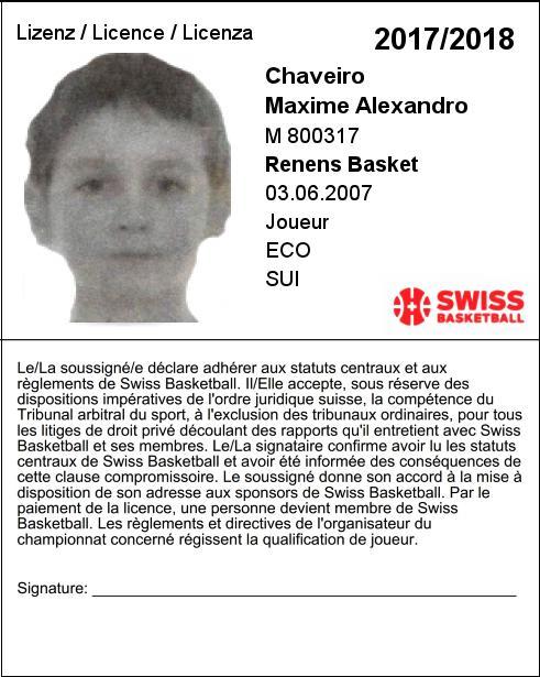 Maxime Chaveiro